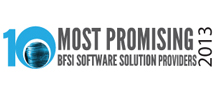 Top 10  Promising BFSI software Companies 2013
